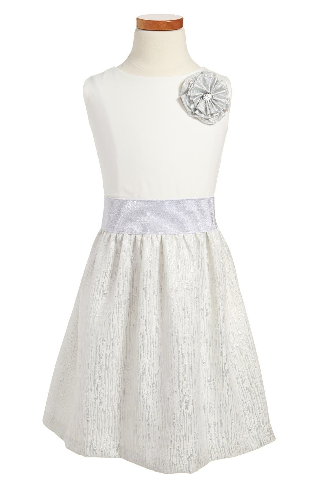 Main Image - ABS by Allen Schwartz 'Gabriella' Sleeveless Dress (Big Girls)
