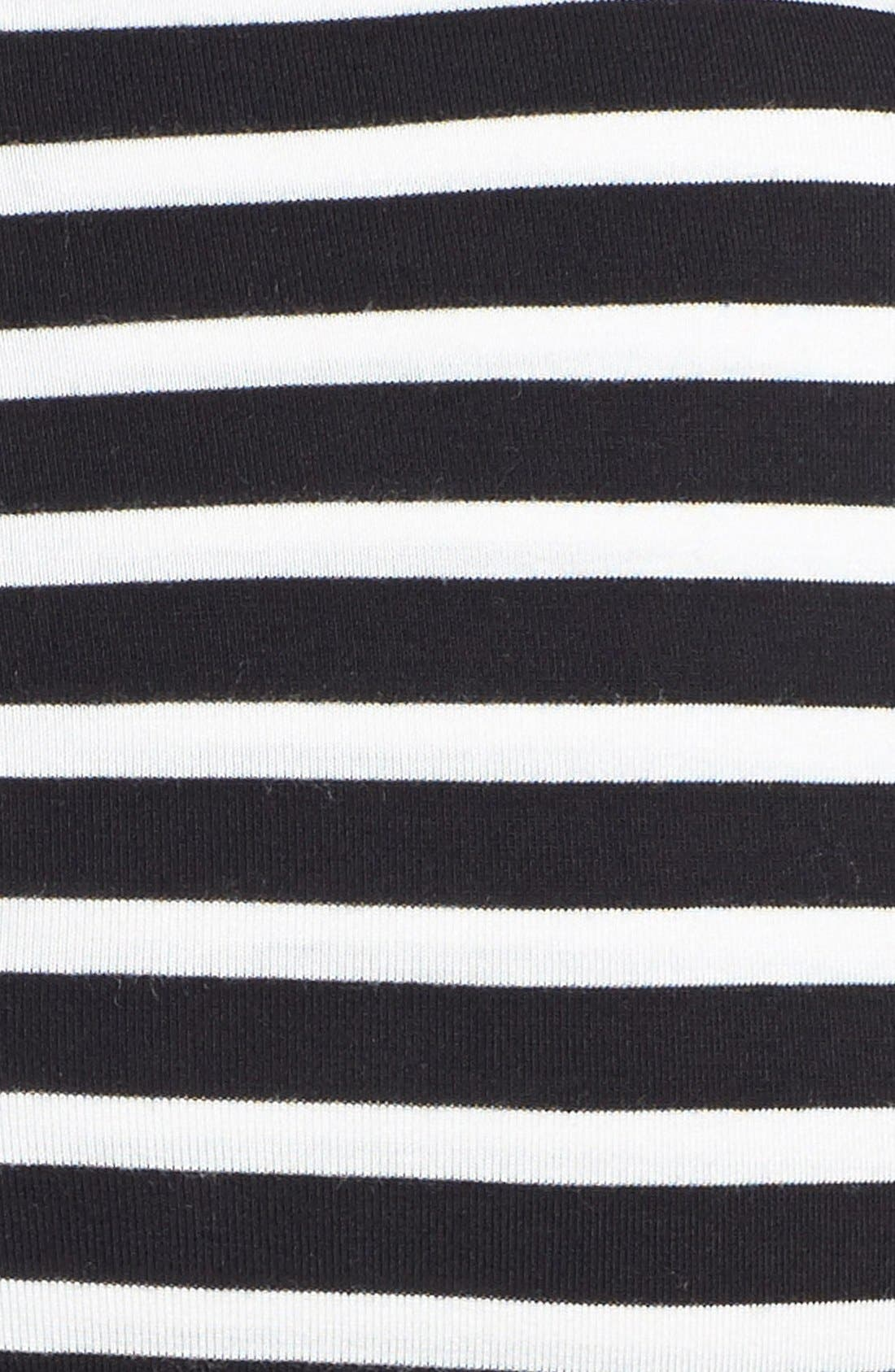 Alternate Image 3  - Chaus 'Meadow Stripe' Pleated Fit & Flare Dress
