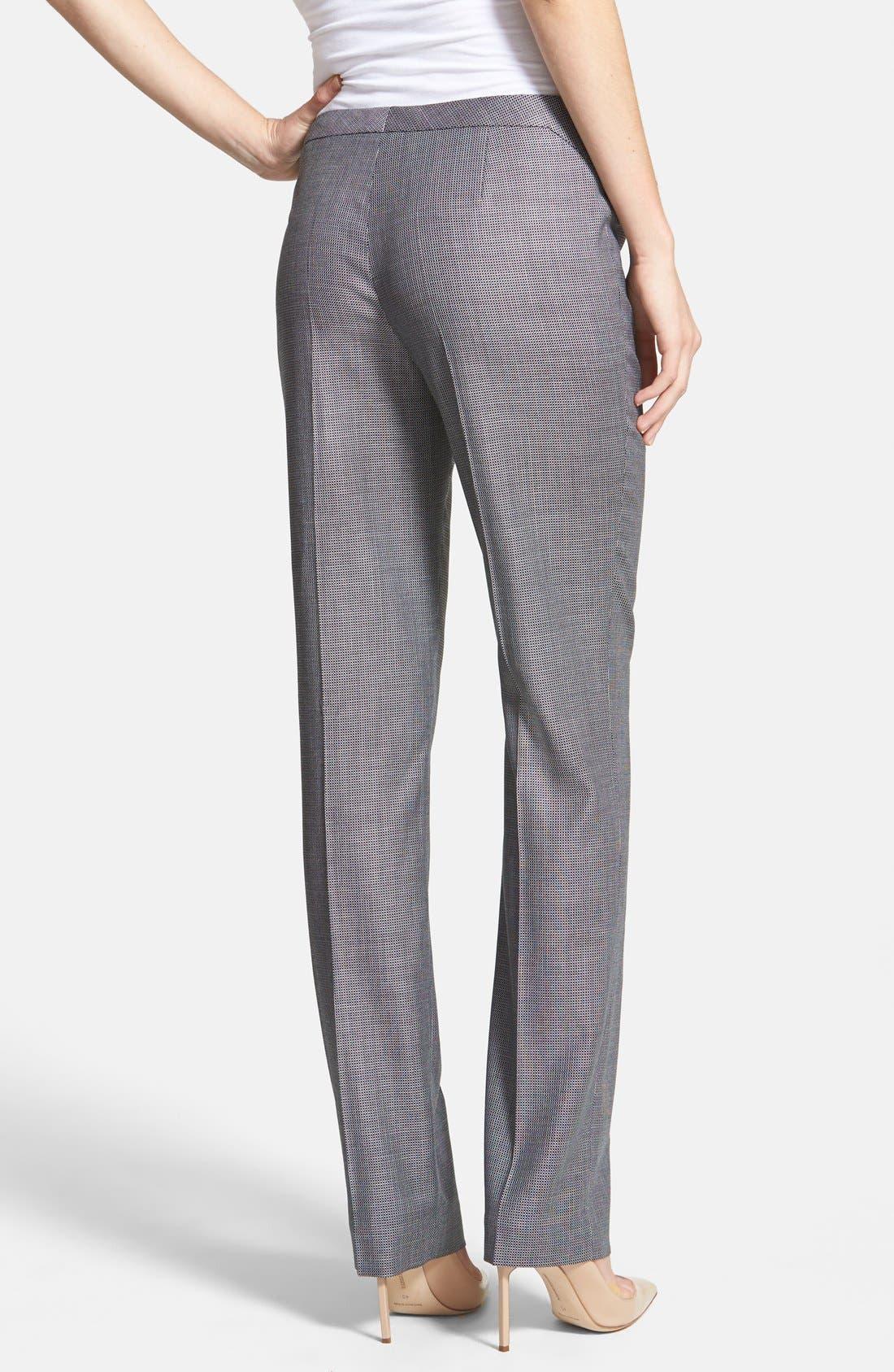 Alternate Image 2  - BOSS 'Tenina' Stretch Wool Trousers