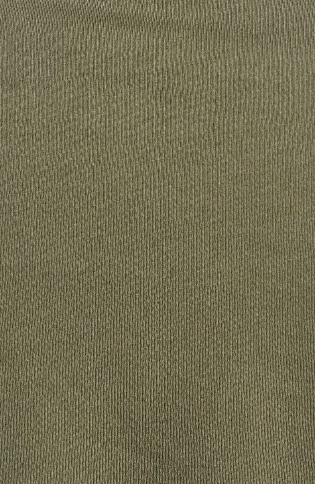 Alternate Image 3  - Z Zegna Colorblock Chest Jersey Polo