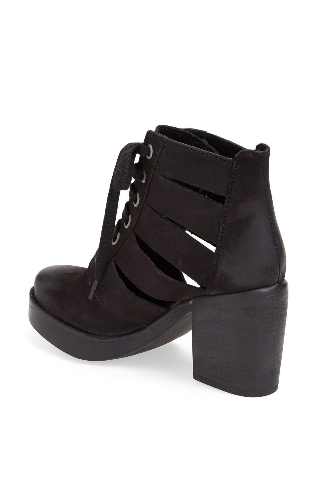 Alternate Image 2  - Topshop 'Anderson' Leather Boot