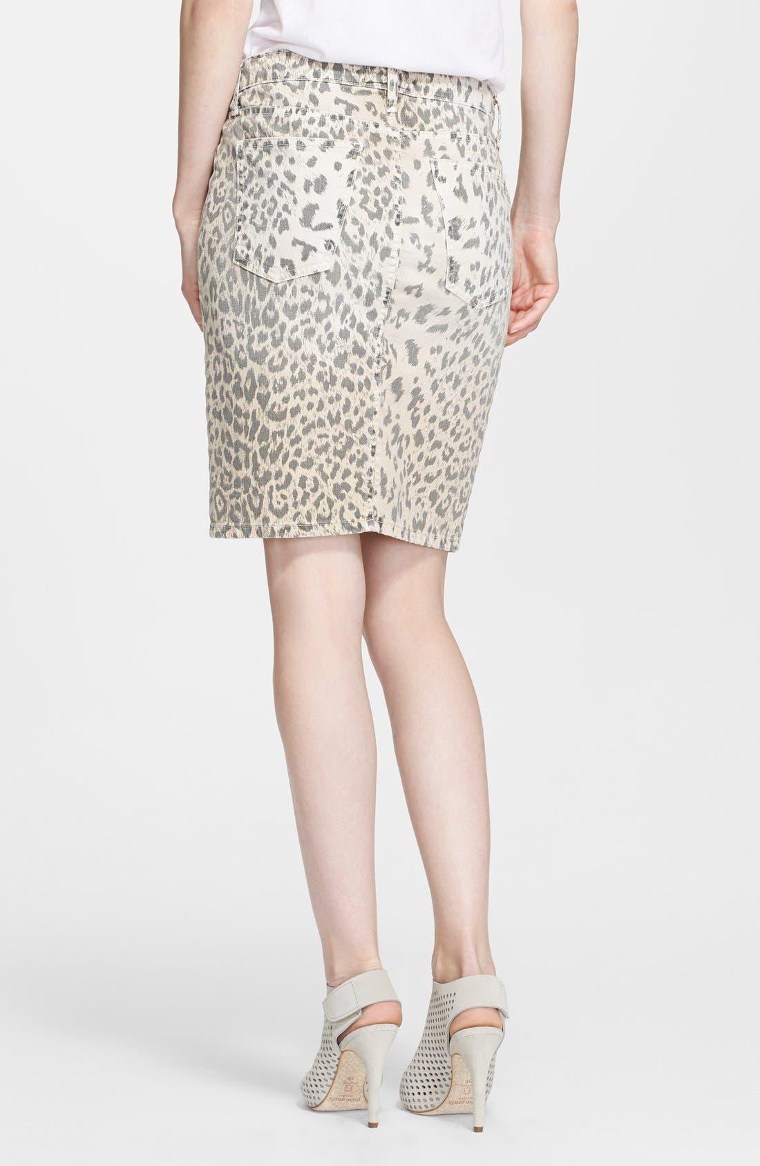 Alternate Image 2  - Current/Elliott 'The Soho' Jean Skirt