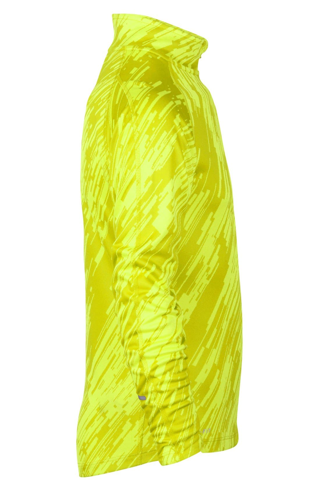 Alternate Image 3  - Nike 'Element' Jacquard Half Zip Running Top (Big Boys)