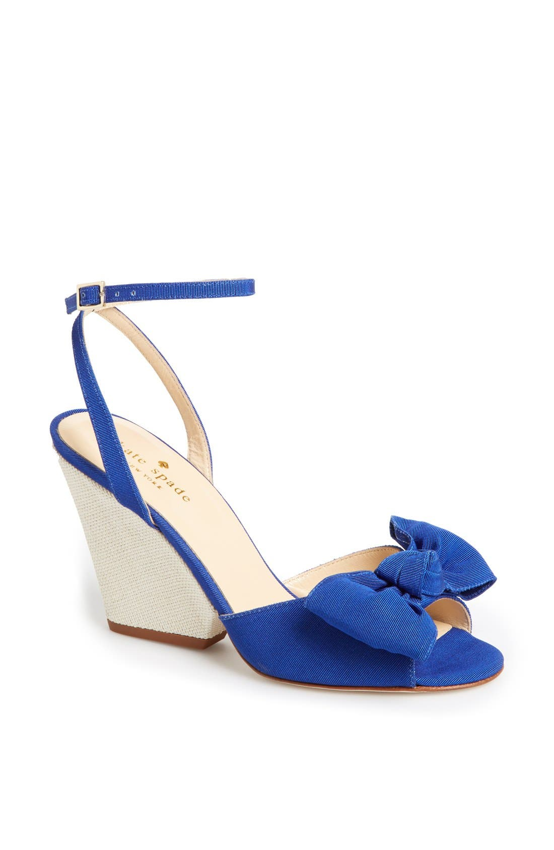 Alternate Image 1 Selected - kate spade new york 'iberis' wedge sandal