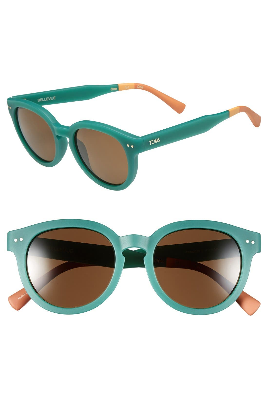Alternate Image 1 Selected - TOMS 'Bellevue' 57mm Sunglasses