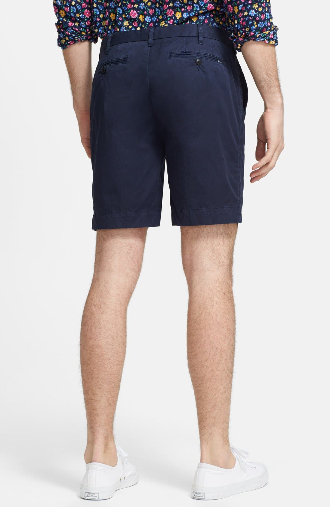 Alternate Image 2  - Polo Ralph Lauren 'Hudson' Flat Front Classic Fit Chino Shorts