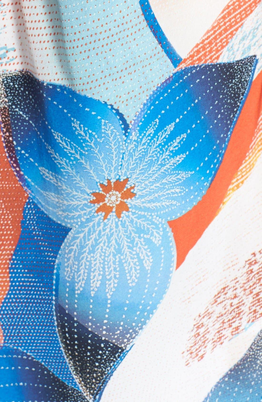 Alternate Image 3  - Diane von Furstenberg 'Gilmore' Print Silk Blouse