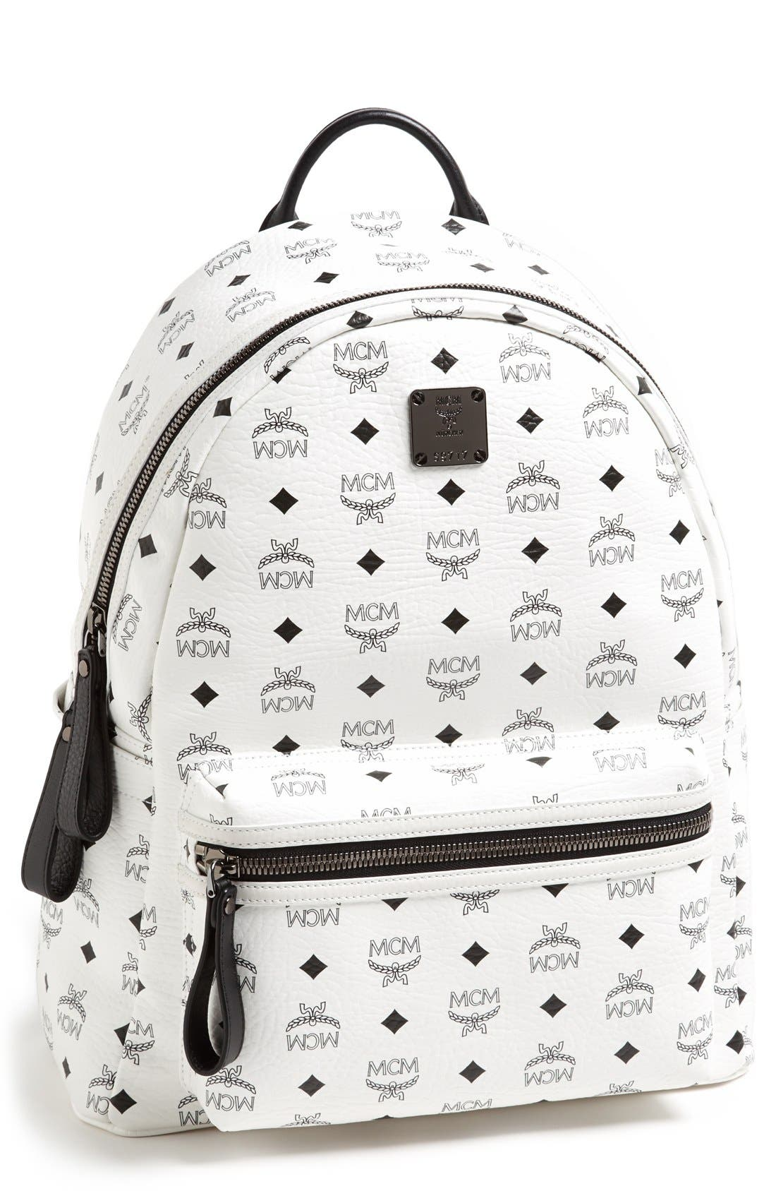 Main Image - MCM 'Medium Stark' Logo Print Backpack