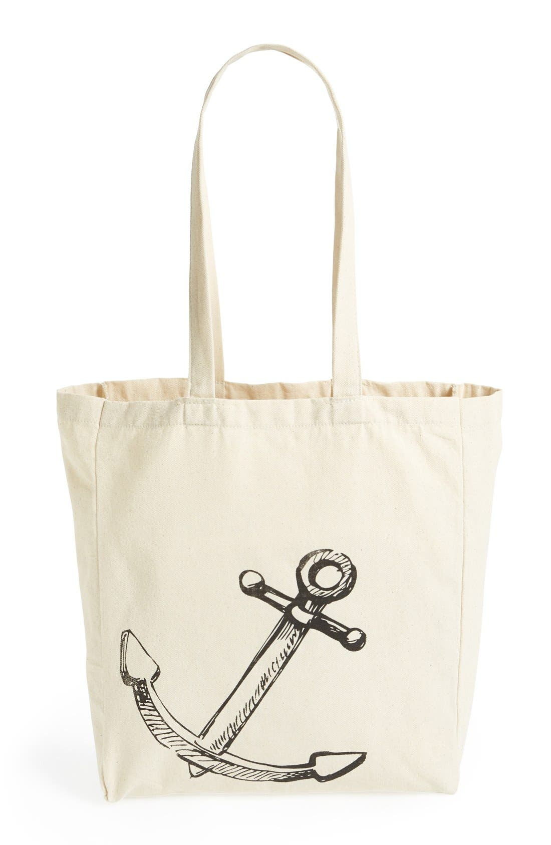 Alternate Image 4  - Tri-Coastal Design Anchor Graphic Tote (Juniors) (Online Only)