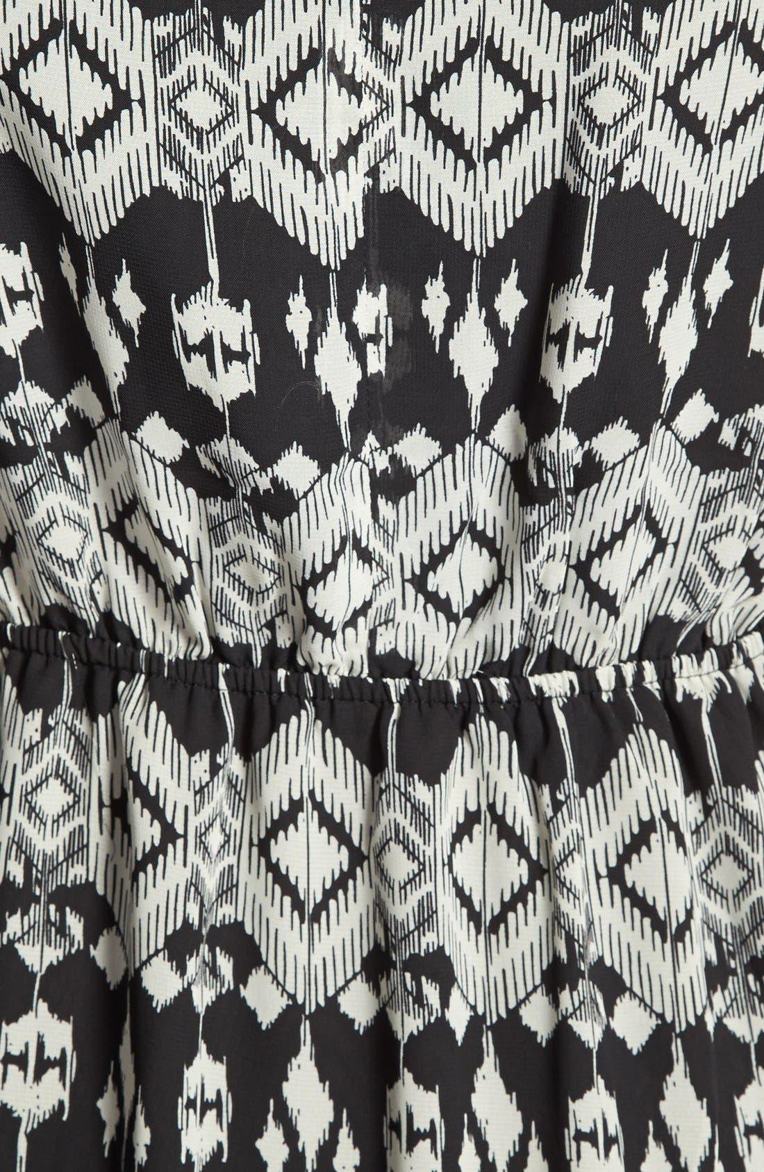 Alternate Image 3  - Olive & Oak Ikat Print High/Low Dress