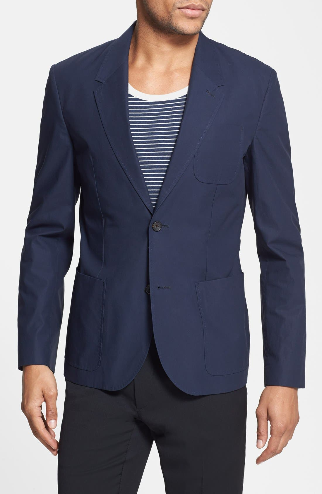 Alternate Image 1 Selected - MARC BY MARC JACOBS 'Harvey' Cotton Blazer