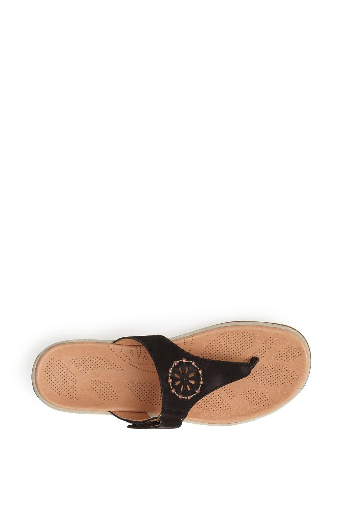 Alternate Image 4  - Acorn 'Vista' Beaded Thong Sandal