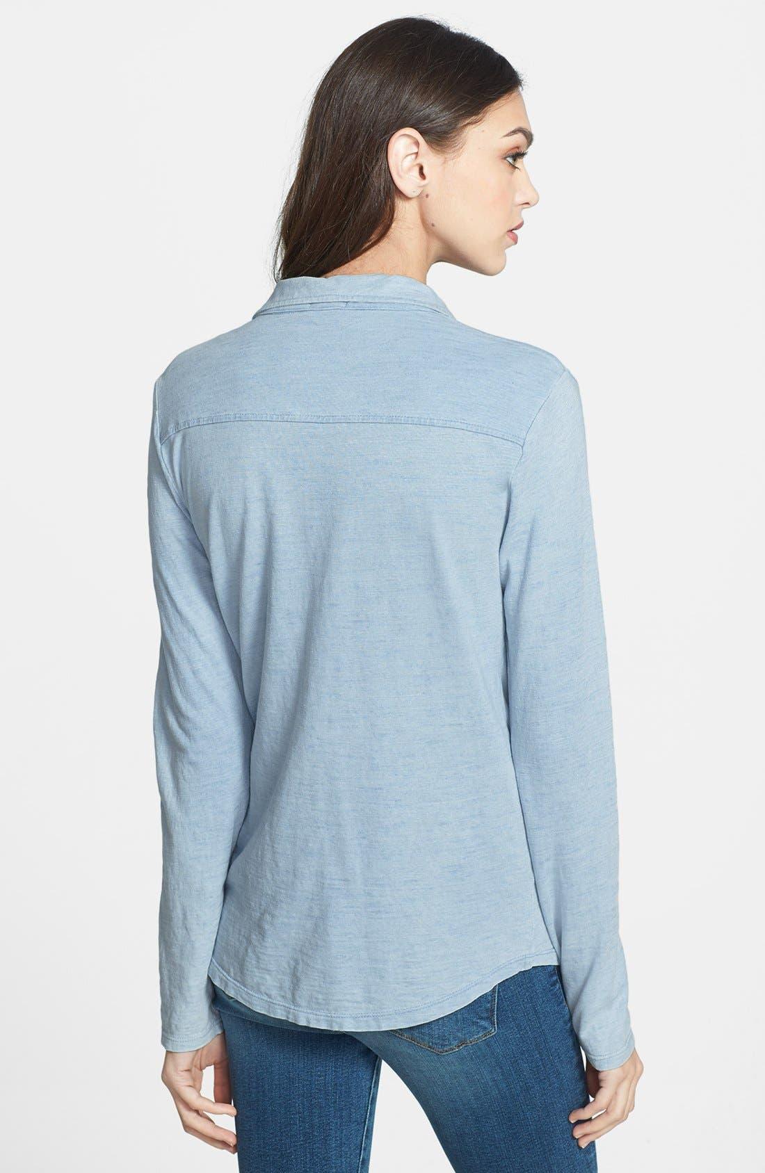 Alternate Image 2  - Splendid Cotton Knit Shirt