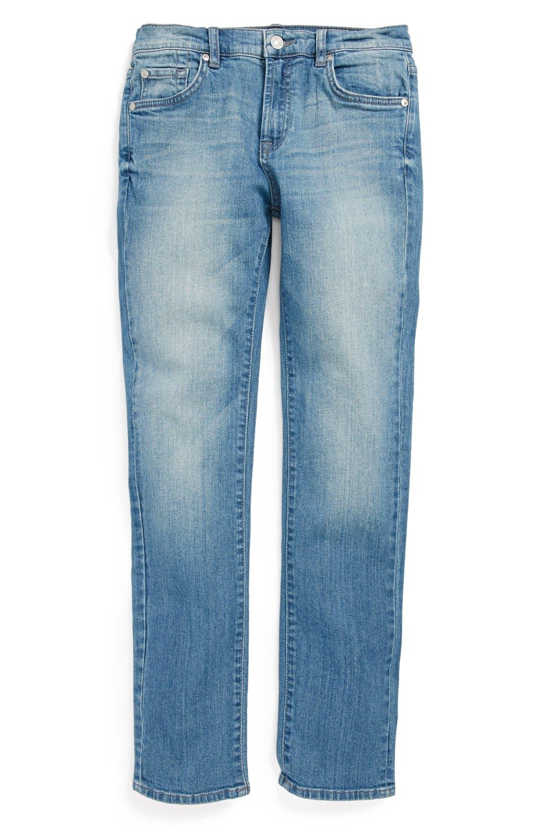 Alternate Image 2  - 7 For All Mankind® 'Slimmy' Slim Fit Jeans (Big Boys)