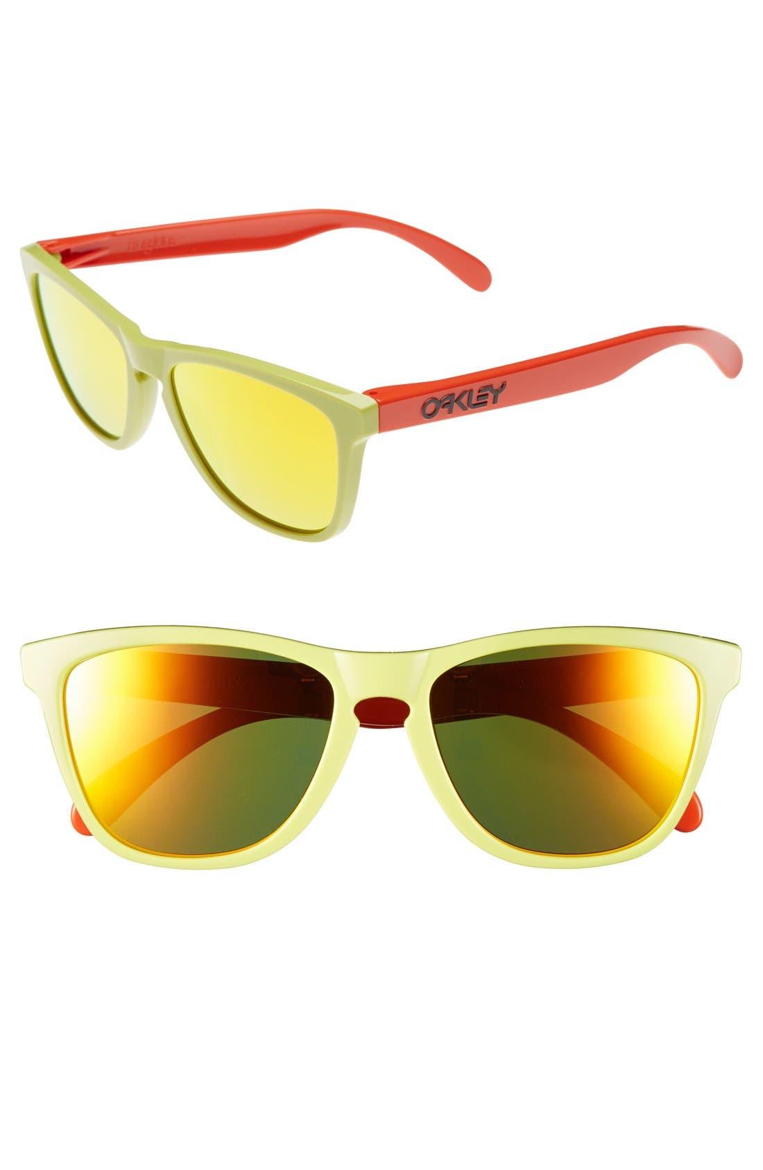 Alternate Image 1 Selected - Oakley 'Frogskins® - Aquatique' 55mm Sunglasses