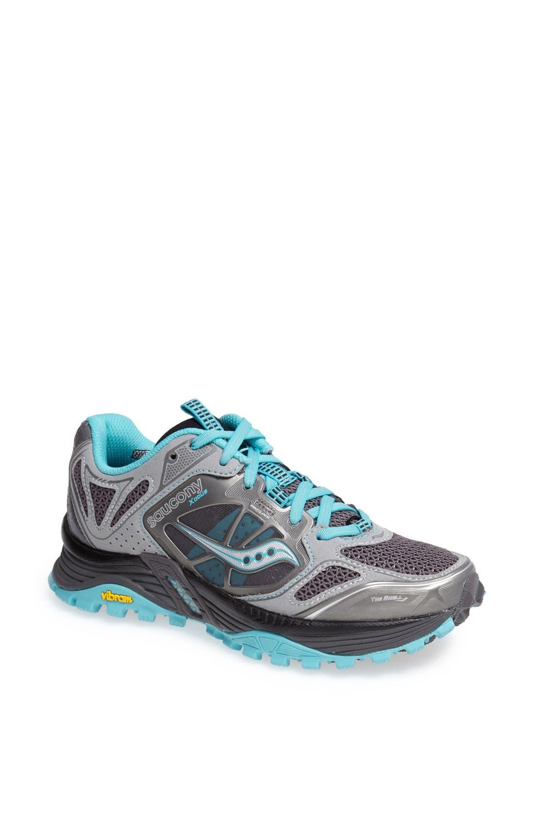 Main Image - Saucony 'Xodus 4.0' Trail Running Shoe (Women)
