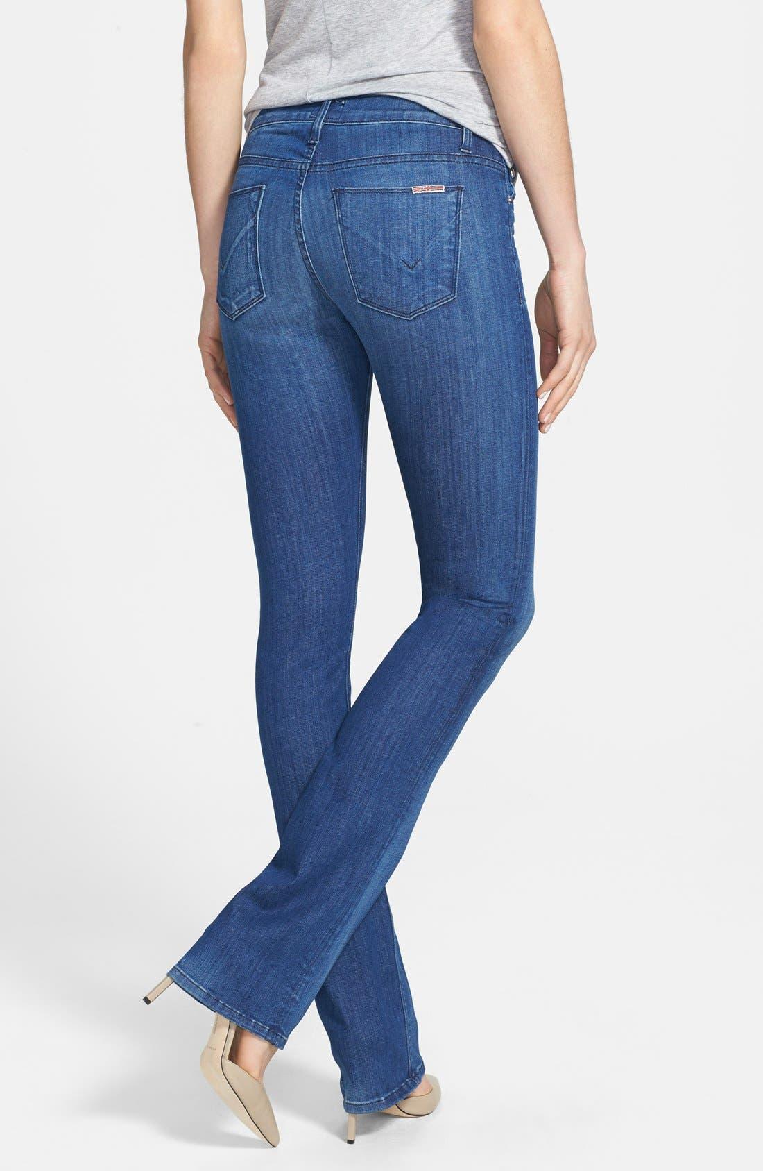 Alternate Image 2  - Hudson Jeans 'Elle' Baby Bootcut Jeans