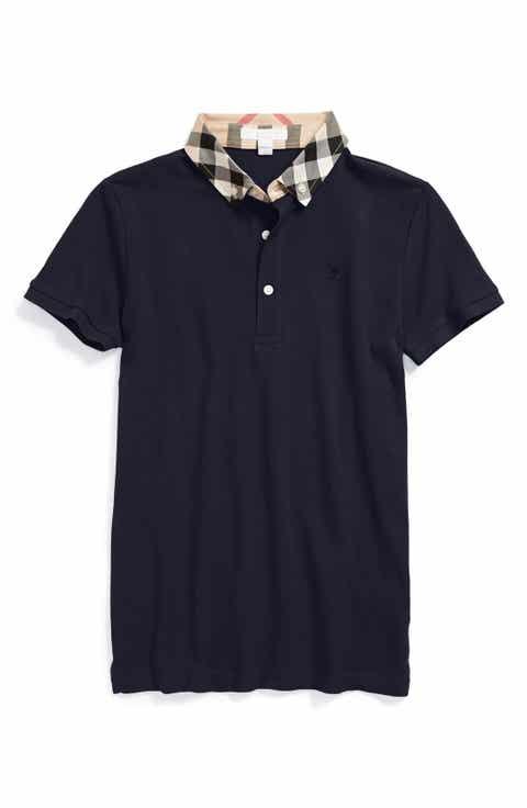 Burberry for kids clothing accessories nordstrom for Dark denim toddler shirt