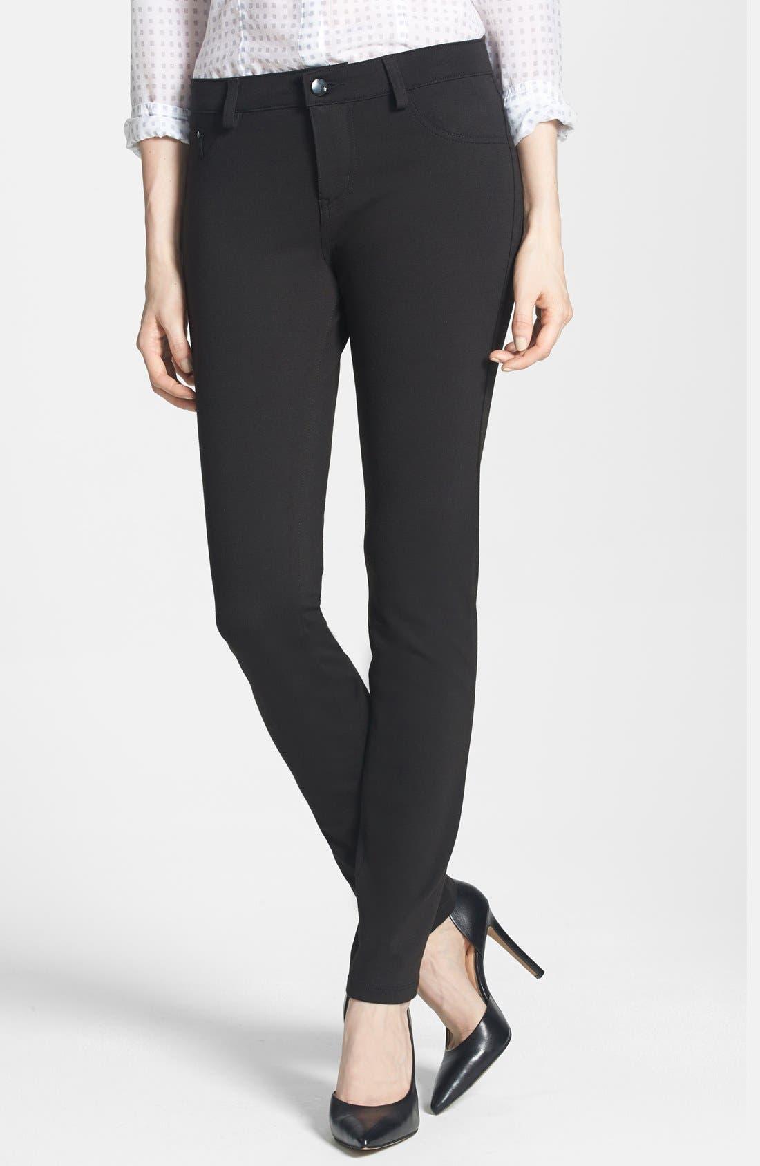 Alternate Image 1 Selected - !iT 'Lauren' Skinny Ponte Pants