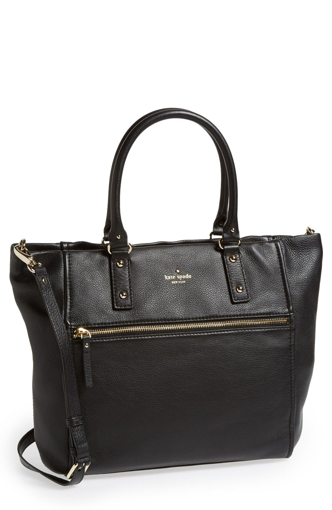 Alternate Image 1 Selected - kate spade new york 'cobble hill - lilla' leather tote (Nordstrom Exclusive)