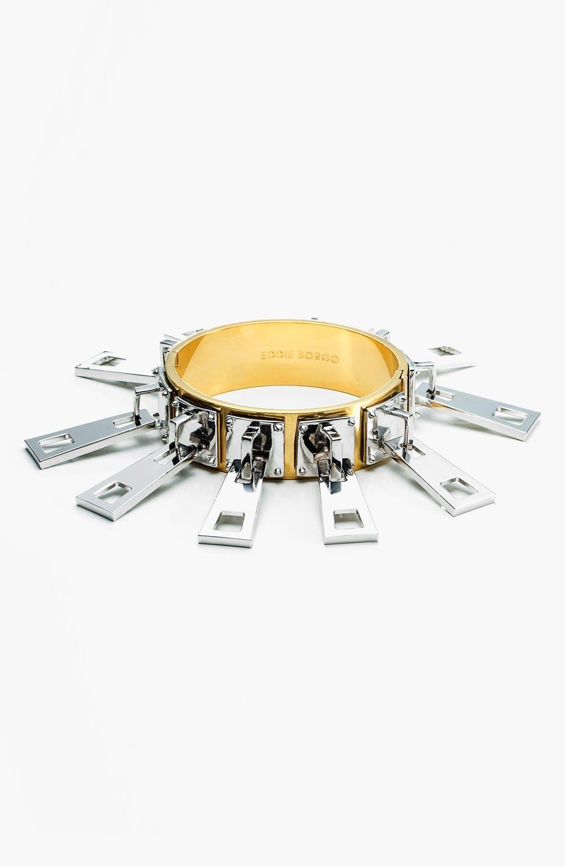 Alternate Image 1 Selected - Eddie Borgo Two-Tone Zipper Bracelet