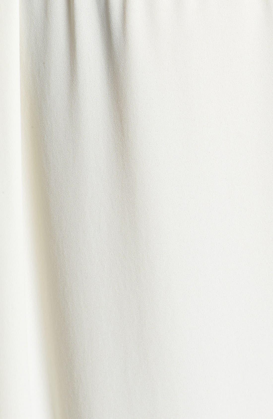 Alternate Image 3  - Topshop Surplice Woven High/Low Top