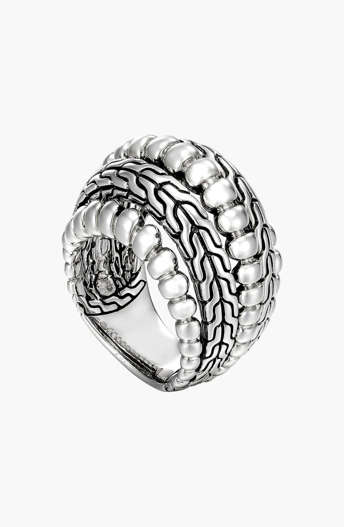 Main Image - John Hardy 'Classic Chain' Dome Ring