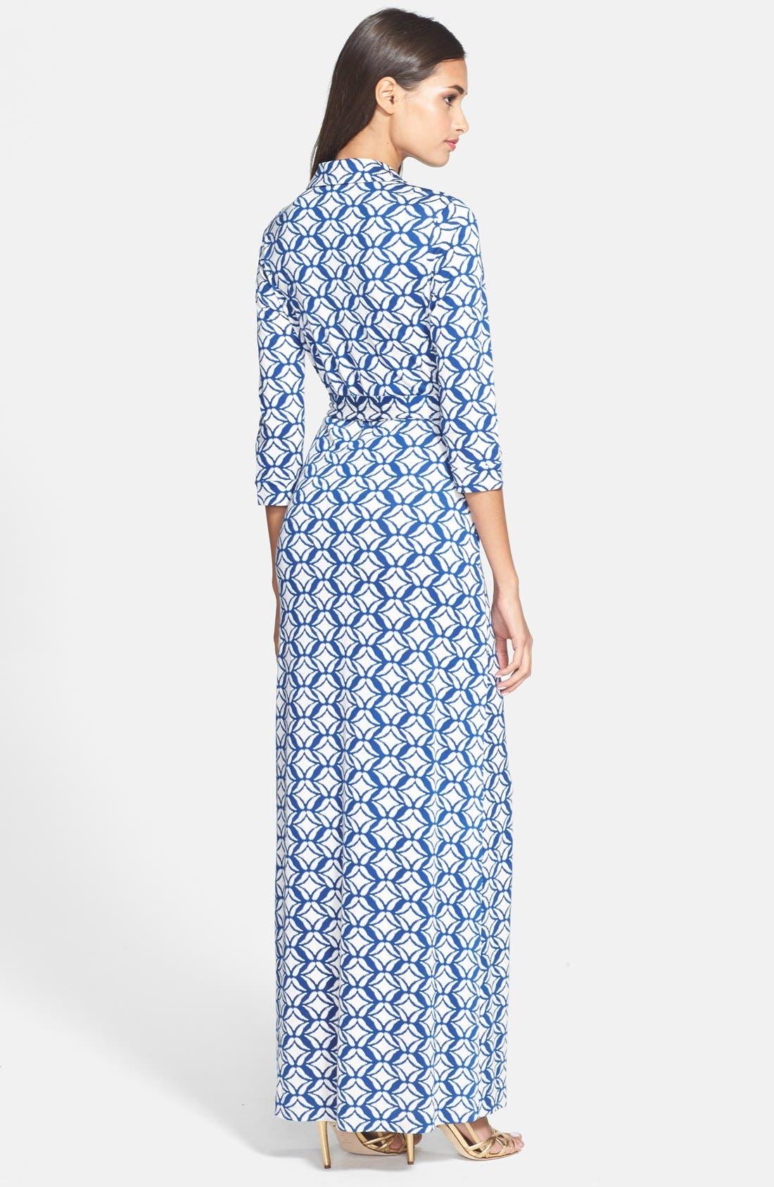Alternate Image 2  - Diane von Furstenberg 'Abigail' Print Silk Wrap Dress