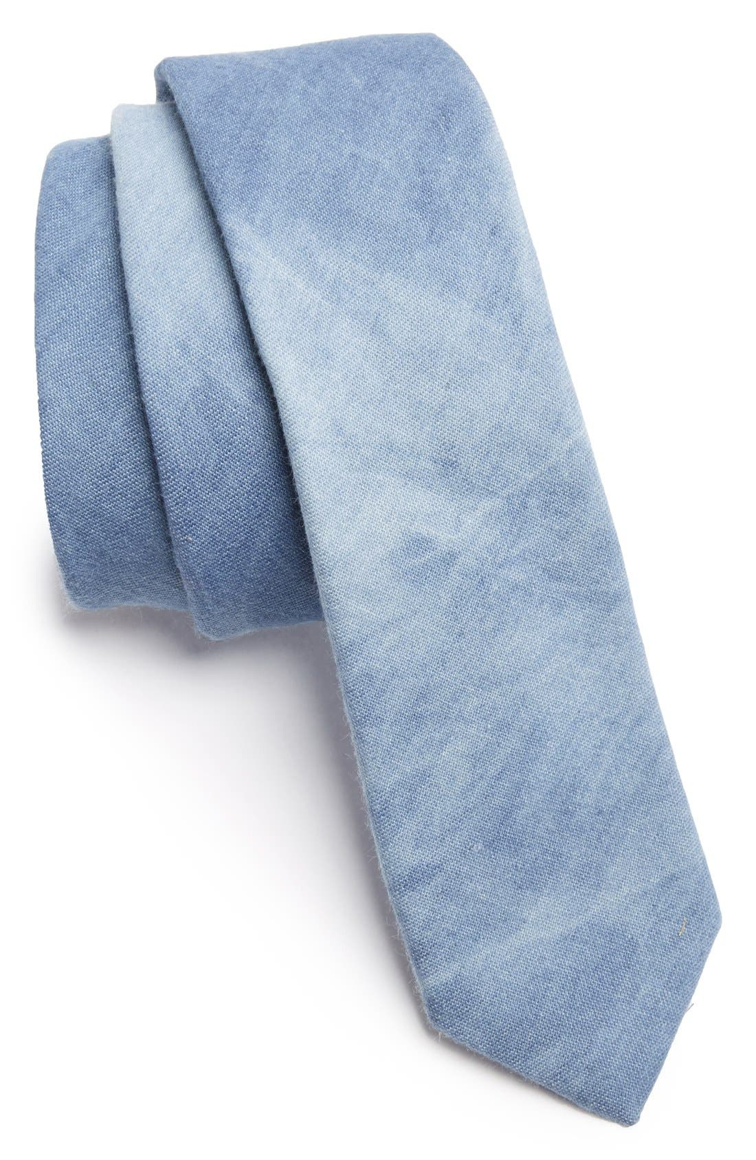 Main Image - C2 by Calibrate Woven Cotton Tie (Big Boys)