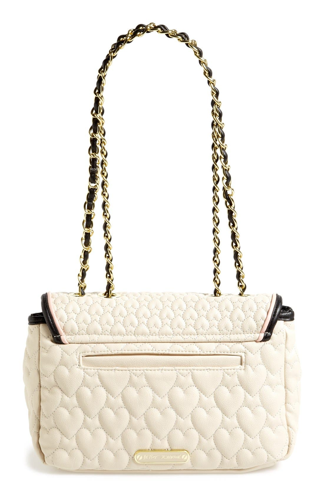 Alternate Image 4  - Betsey Johnson Flapover Shoulder Bag