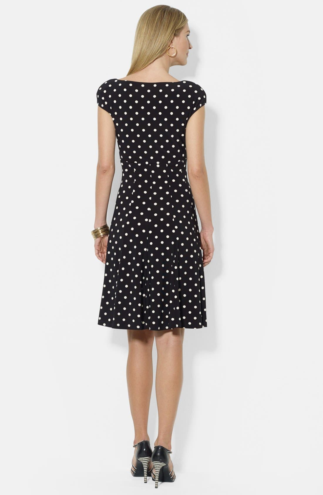 Alternate Image 2  - Lauren Ralph Lauren Print Matte Jersey Dress