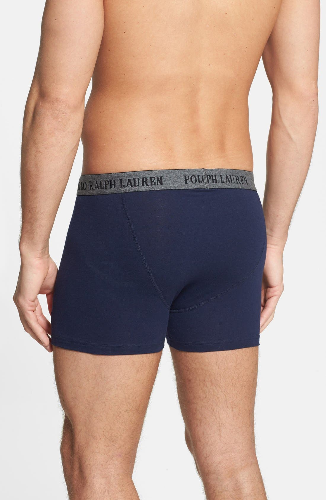 Alternate Image 2  - Polo Ralph Lauren Boxer Briefs (2 for $36.50)