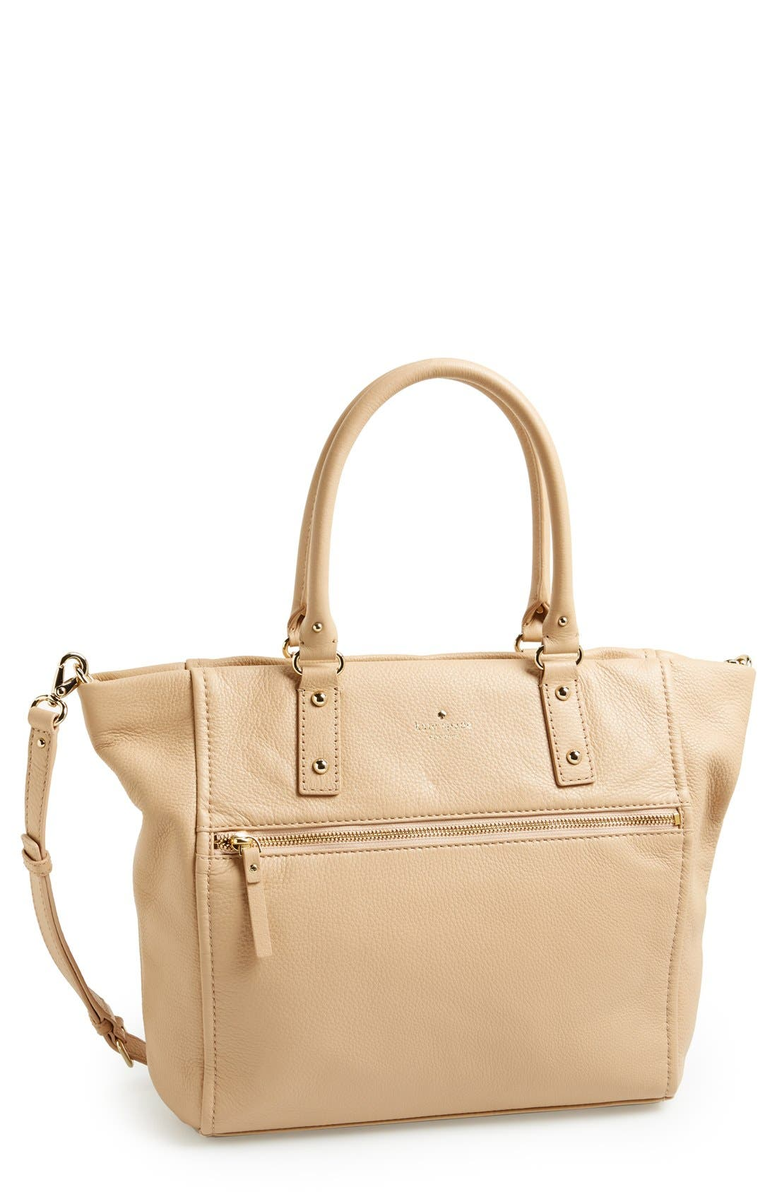 Main Image - kate spade new york 'cobble hill - lilla' leather tote (Nordstrom Exclusive)