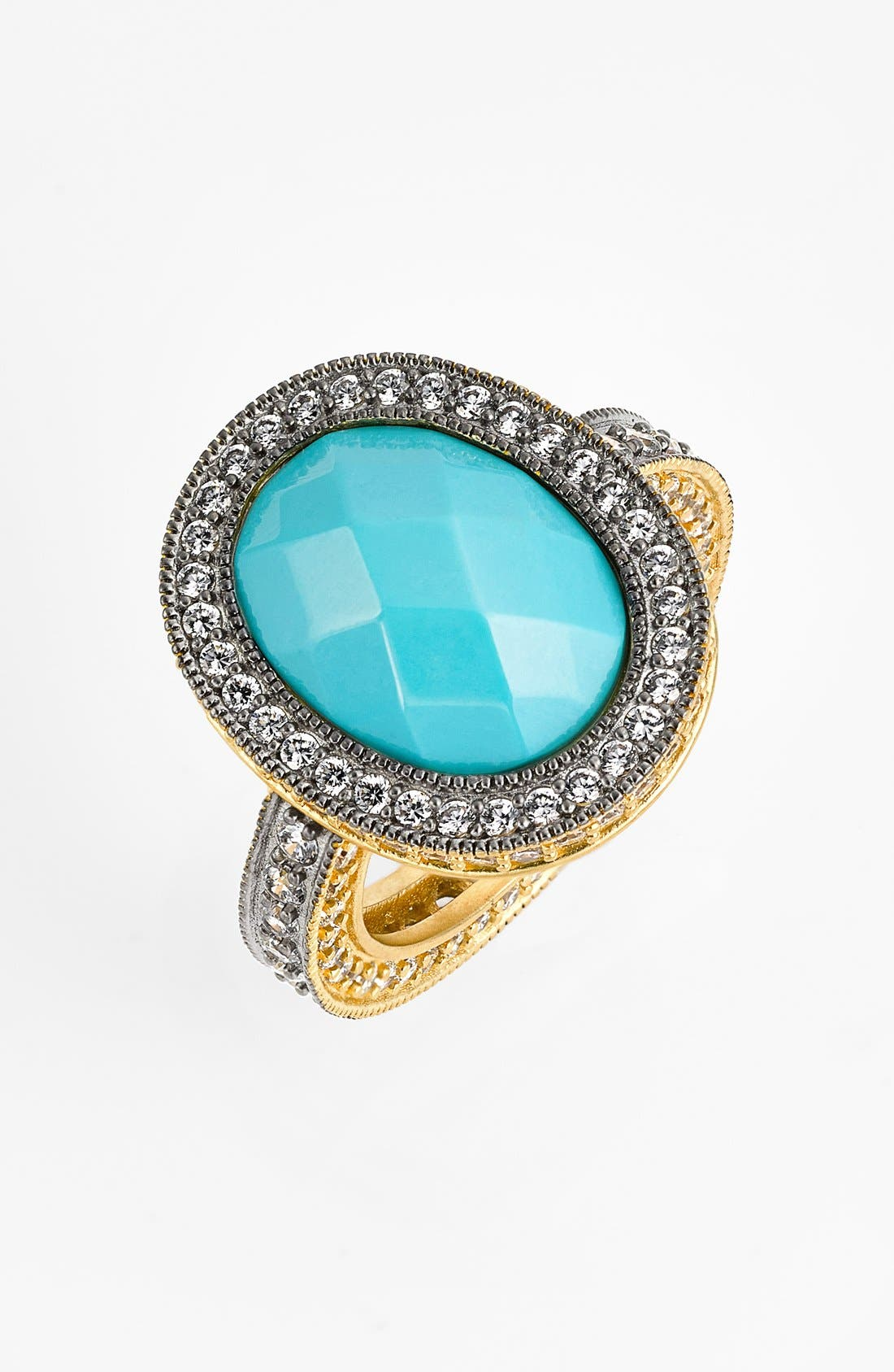 Alternate Image 1 Selected - FREIDA ROTHMAN 'Metropolitan' Oval Stone Ring