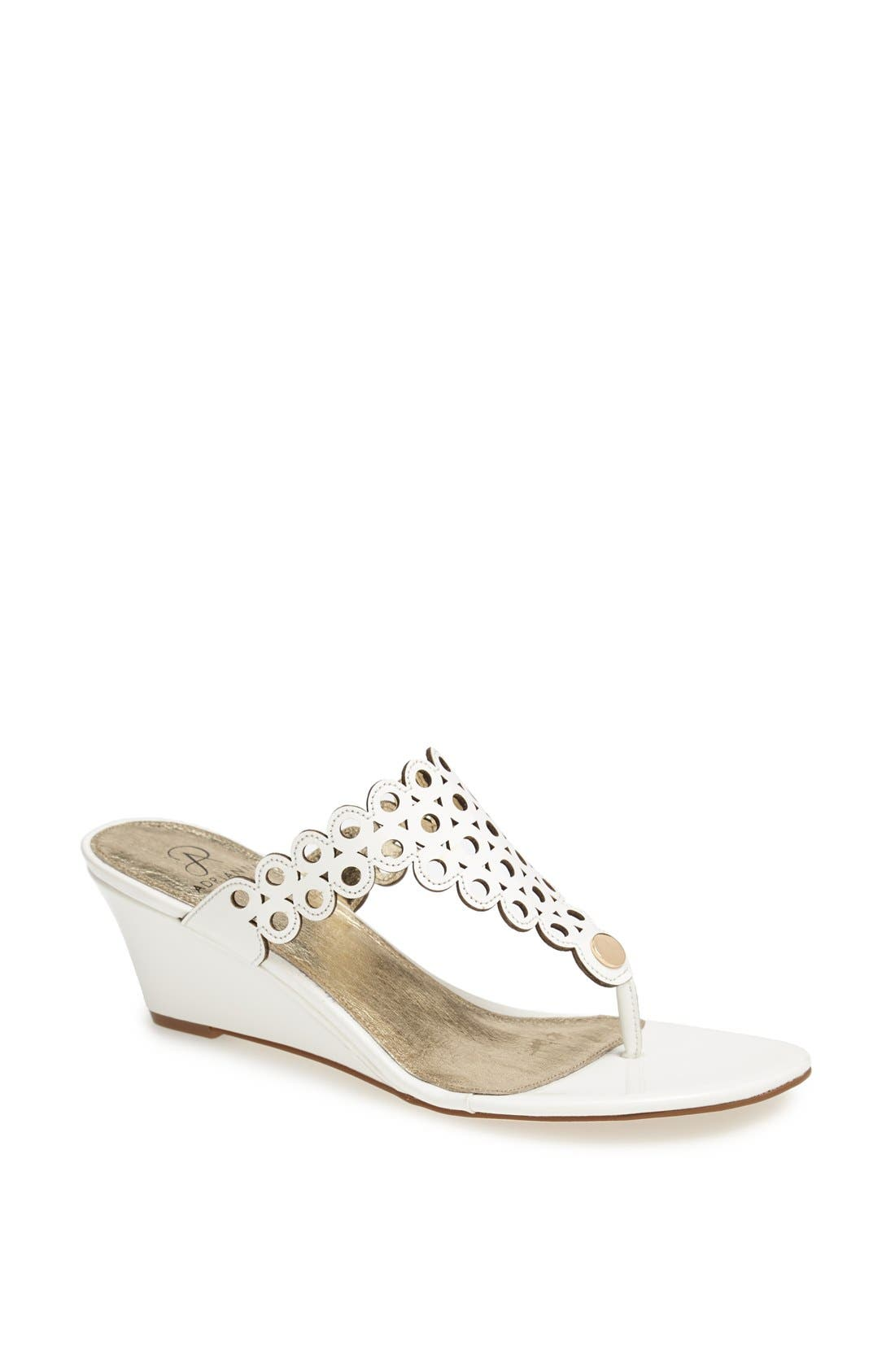 Alternate Image 1 Selected - Adrianna Papell 'Calais' Wedge Sandal