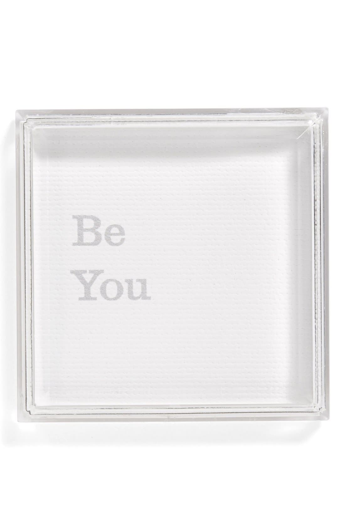 Alternate Image 1 Selected - Petal Lane 'Be You' Magnet