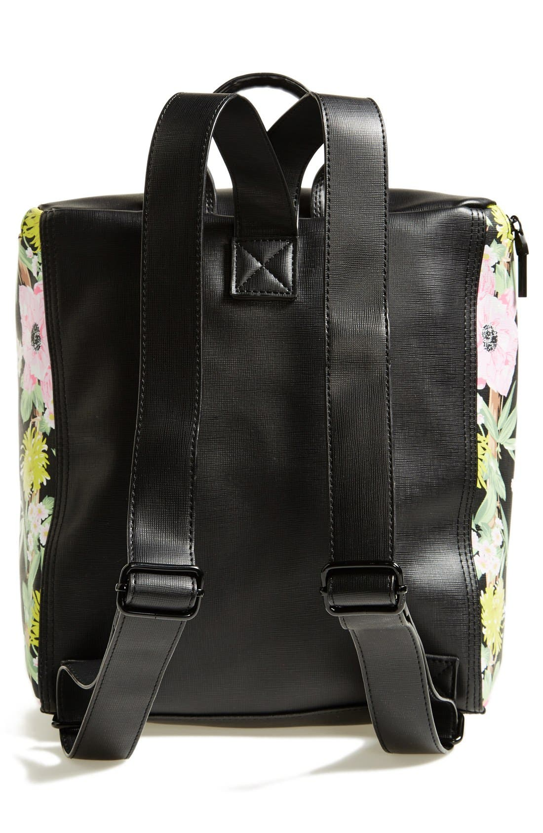 Alternate Image 4  - French Connection 'Prim Lady' Faux Leather Backpack