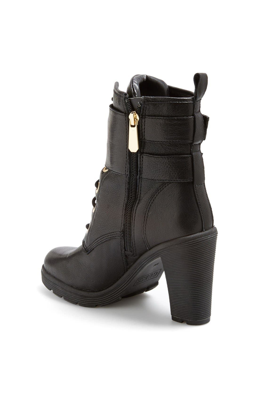 Alternate Image 2  - GUESS 'Finlay' Belted Leather Bootie