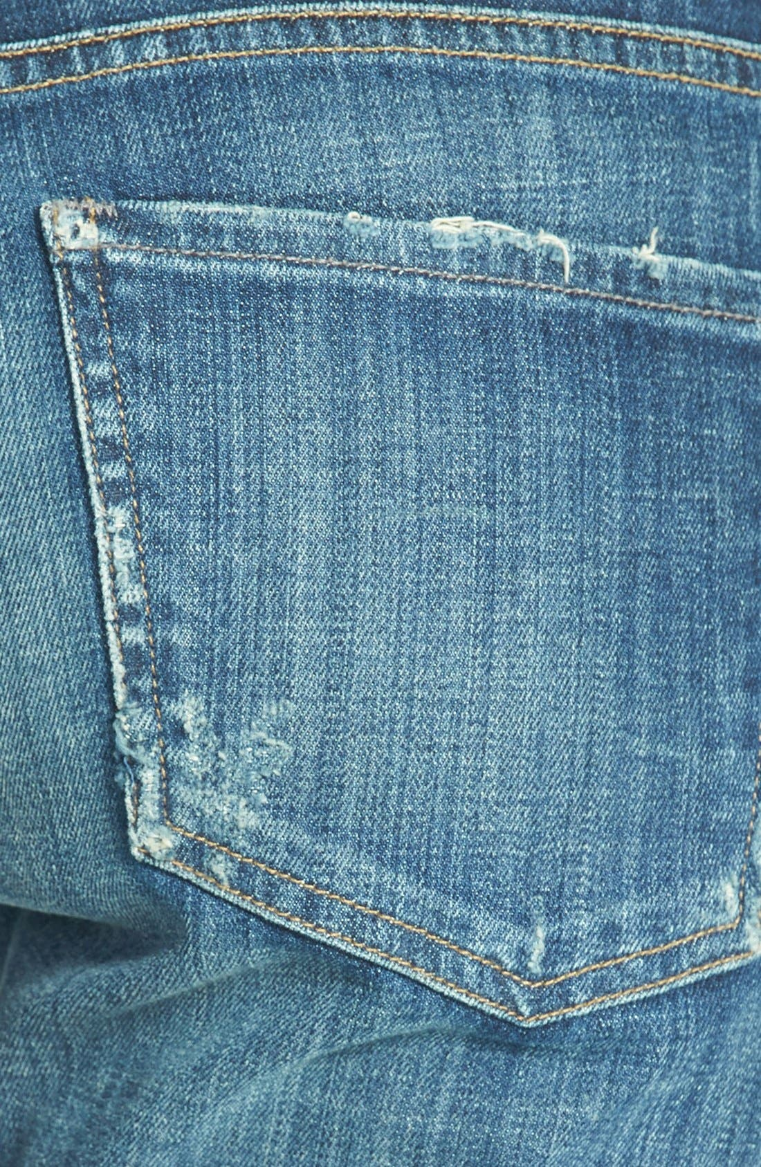 Alternate Image 3  - Citizens of Humanity 'Dylan' Distressed Straight Leg Jeans (Nomad)