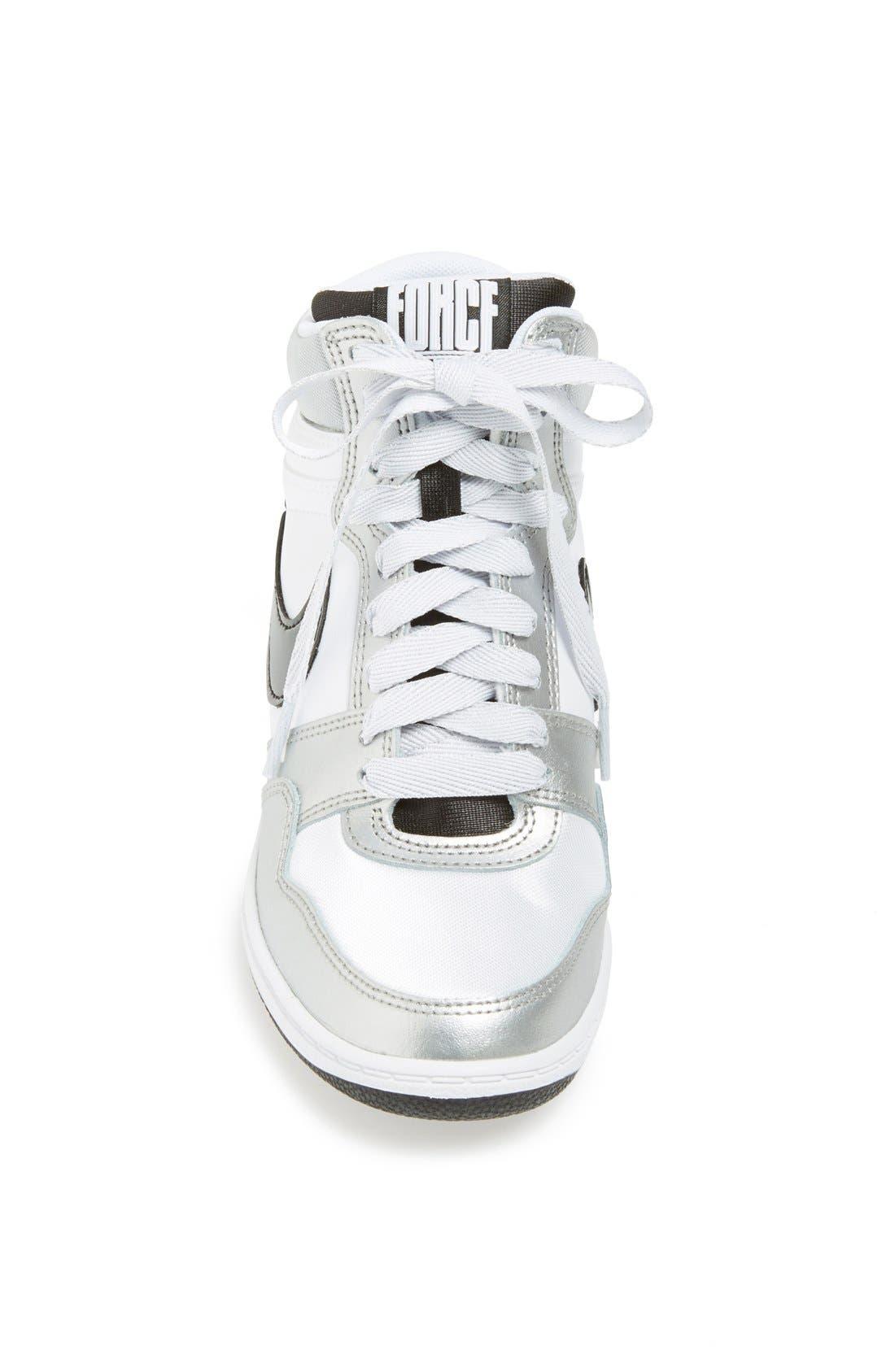 Alternate Image 2  - Nike 'Force Sky Hi' Wedge Sneaker (Women)