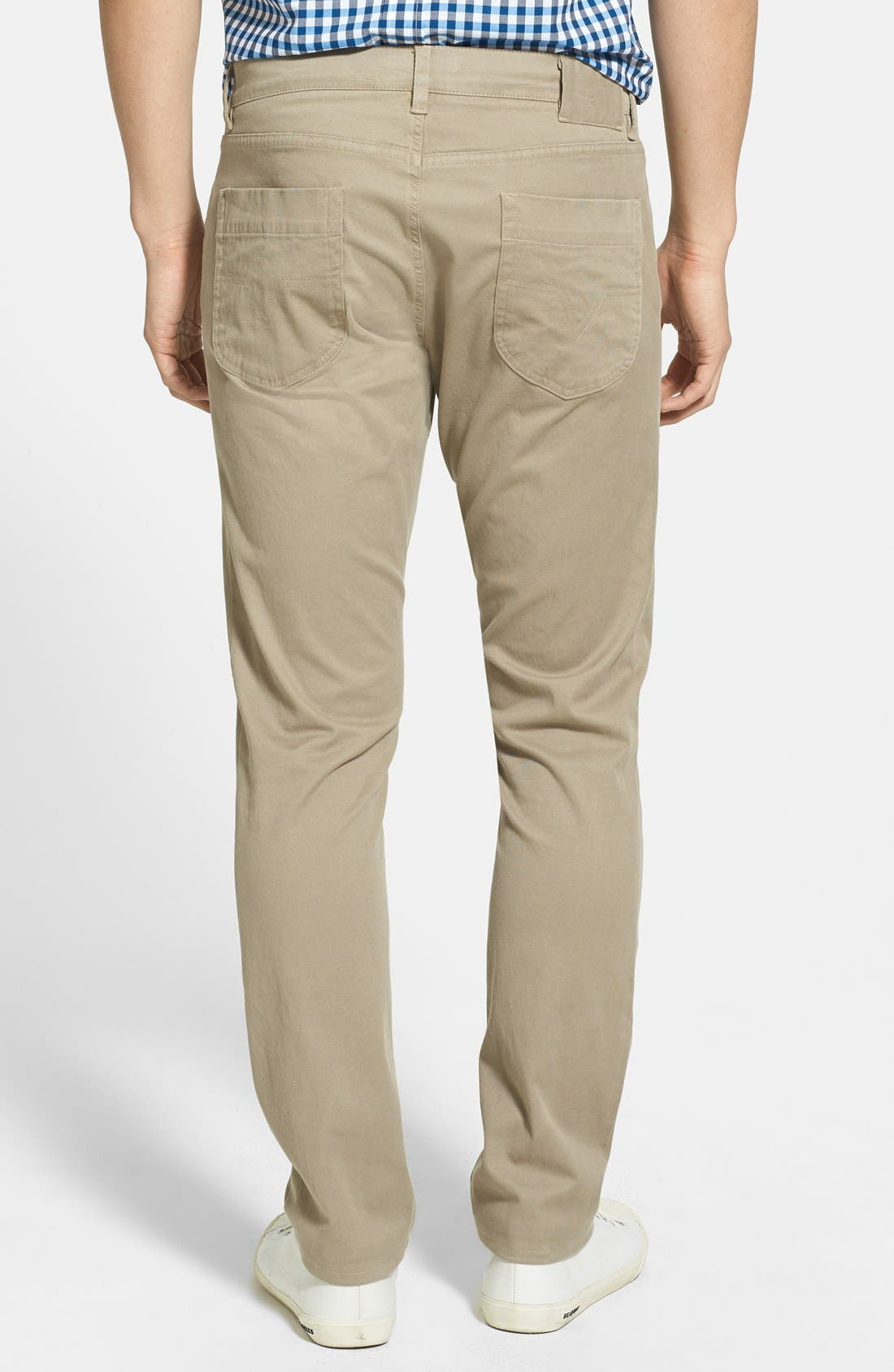 Alternate Image 2  - Vince Five Pocket Stretch Cotton Straight Leg Pants