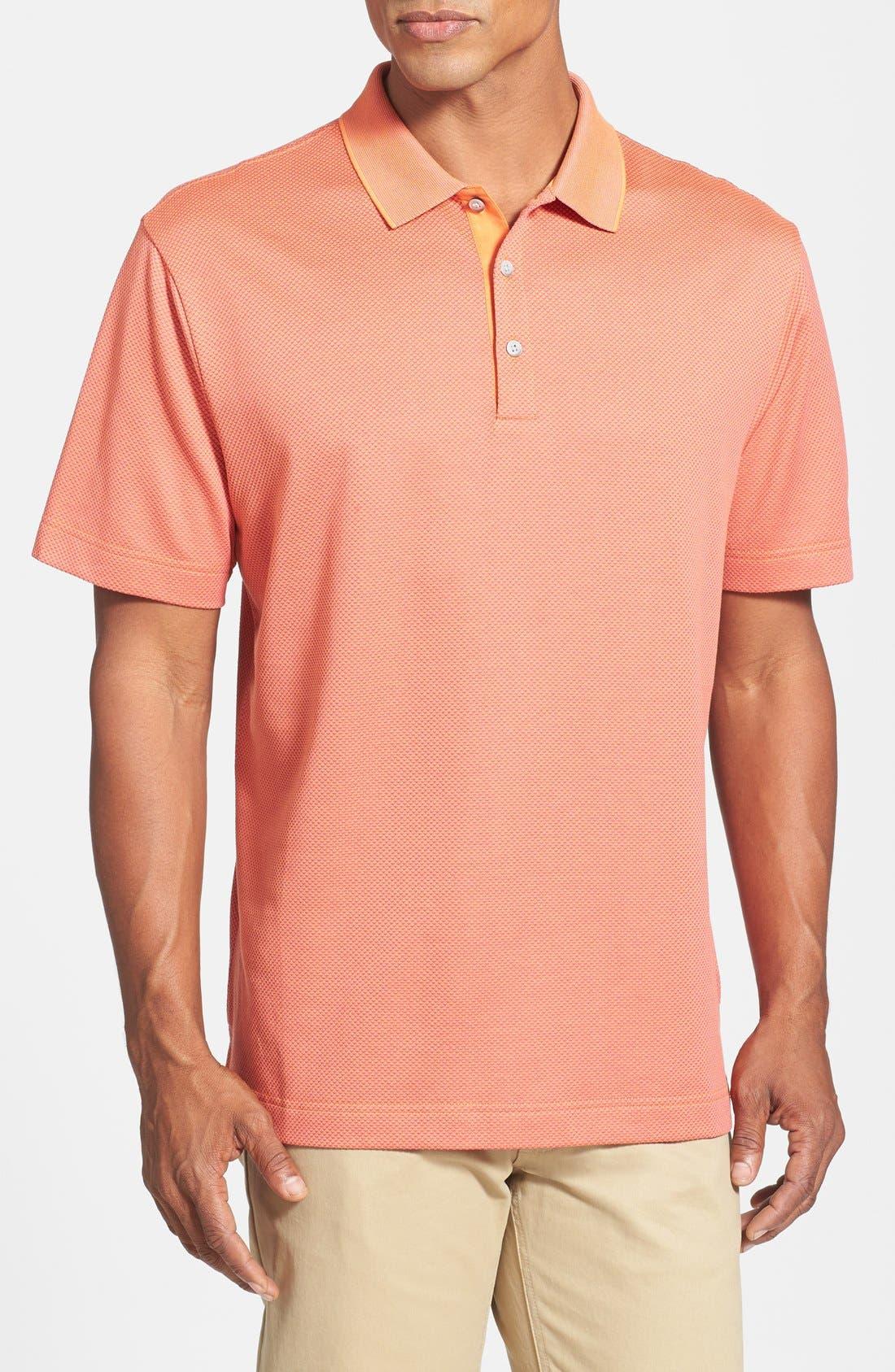 Alternate Image 1 Selected - Cutter & Buck 'Nano' Wrinkle Free DryTec Golf Polo