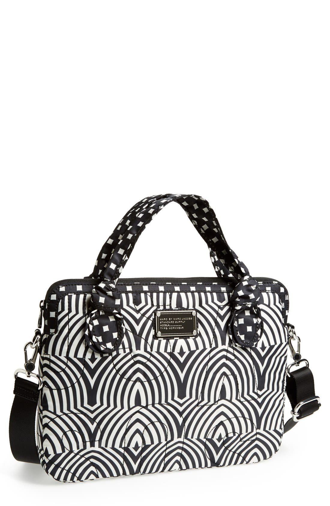 Main Image - MARC BY MARC JACOBS 'Pretty Nylon Gamma Ray - Computer Commuter' Bag (13 Inch)