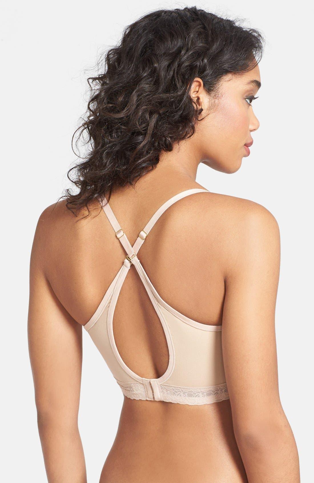 Alternate Image 3  - Natori 'Truly Smooth' Lace Trim Convertible Contour Bra