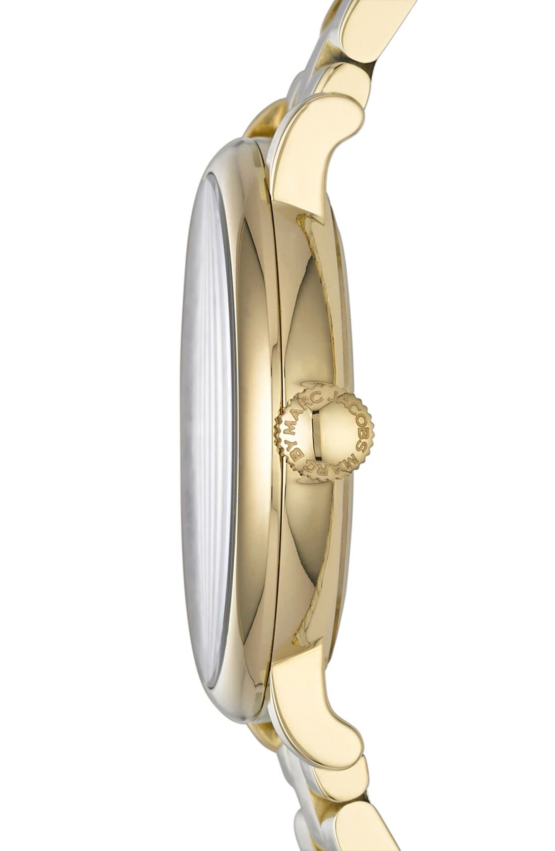 Alternate Image 3  - MARC JACOBS 'Baker' Bracelet Watch, 37mm