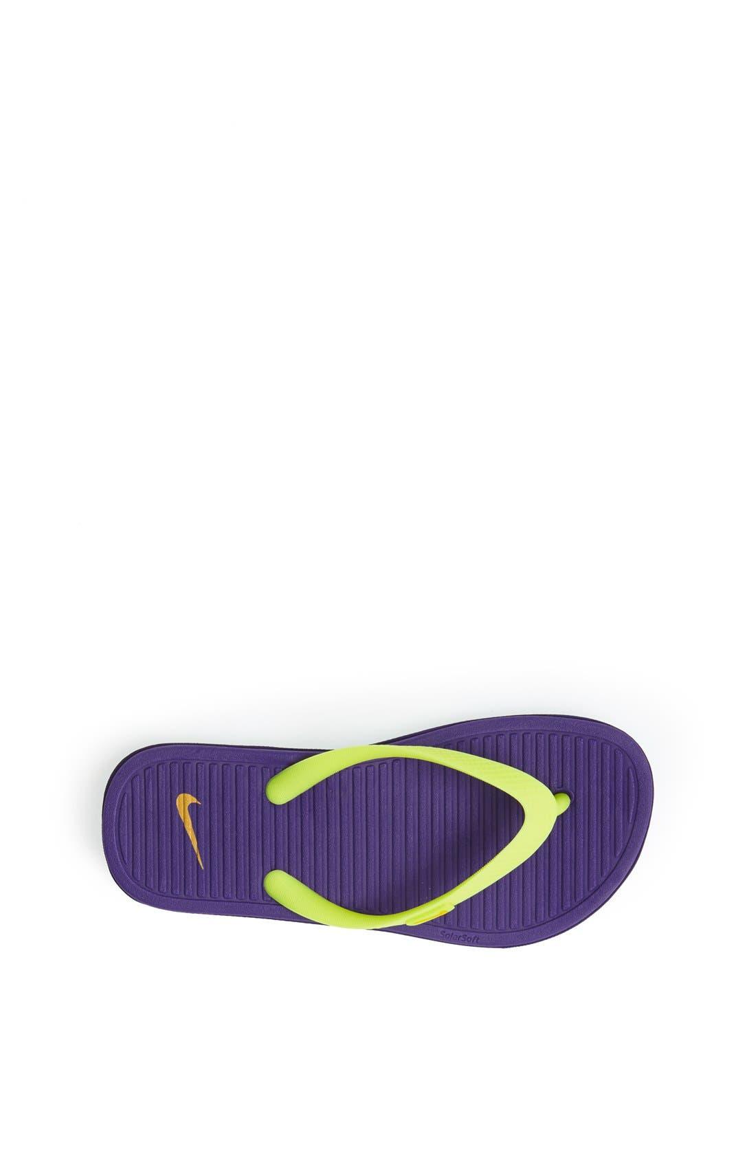 Alternate Image 3  - Nike 'SolarSoft 2' Sandal (Toddler, Little Kid & Big Kid)