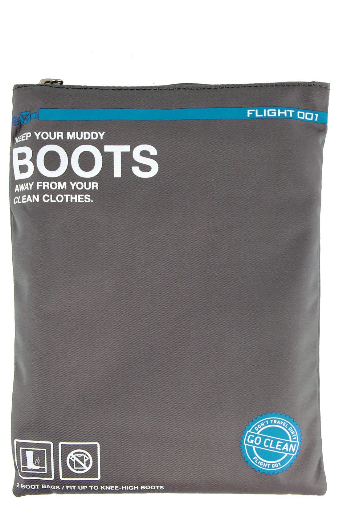 Alternate Image 1 Selected - Flight 001 'Go Clean' Boot Travel Bags