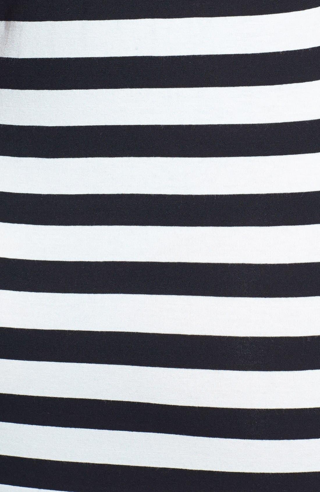 Alternate Image 3  - Vince Camuto Multi Stripe Maxi Dress