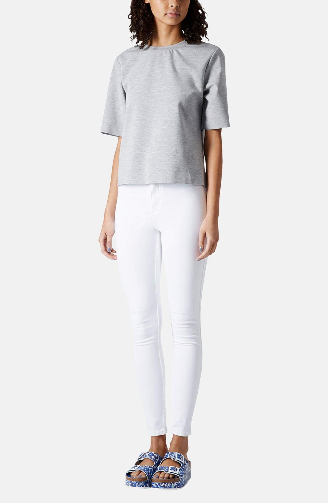 Alternate Image 5  - Topshop Moto 'Joni' High Rise Skinny Jeans (Regular & Long)