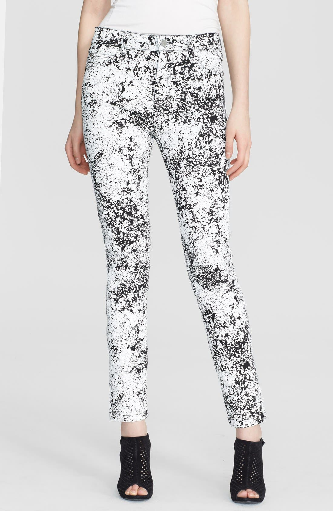 Main Image - McQ by Alexander McQueen Print Skinny Jeans